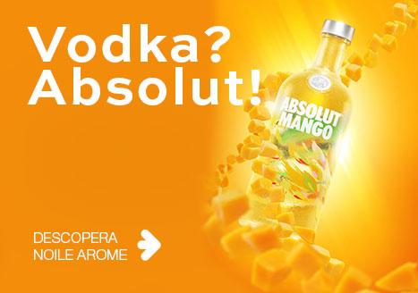 Noile arome Absolut Vodka